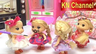 Đồ chơi trẻ em Búp bê KN Channel chơi trò chơi dân gian | Đồ chơi trẻ em CỦA BÉ NA