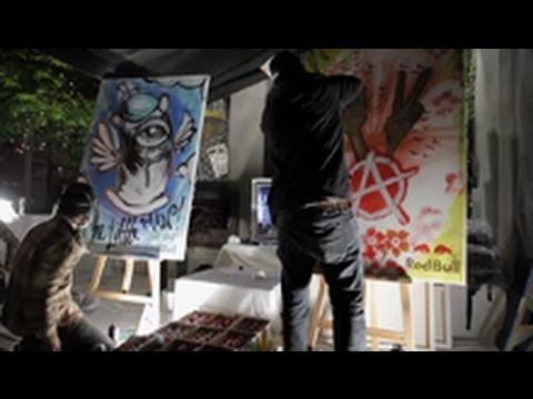 Street Art Battle - Red Bull Wreckers Yard Qualifier