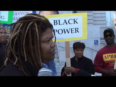 Andrea Shorter Speaks at Bayard Rustin LGBT Coalition Civil Rights Rally