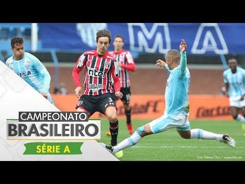 Melhores Momentos - Gols de Avaí 1 x 1 São Paulo - Campeonato Brasileiro (20/08/2017)