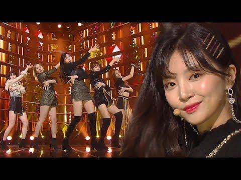 LABOUM(라붐) - Turn It On(불을 켜) @인기가요 Inkigayo 20190113