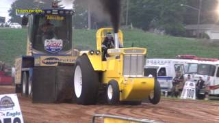 2015 Harvest Barn Smokeout: Classic Super Stock Tractor Pull