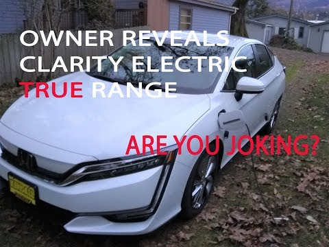 SHOCKING - Honda Clarity EV Electric Range is THIS LOW? WOW!