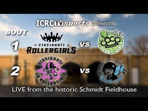 Cincinnati Roller Girls 4-8-17