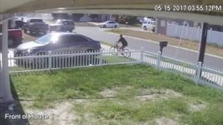 Security Footage captures Hit and Run Driver Part 2