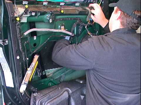 Removing X5 Door Panel Replacing Window Regulator Youtube