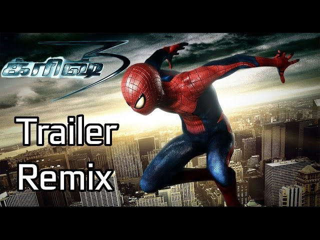 Krrish 3 Trailer - Spider Man Remix ( Tamil ) Travel Video