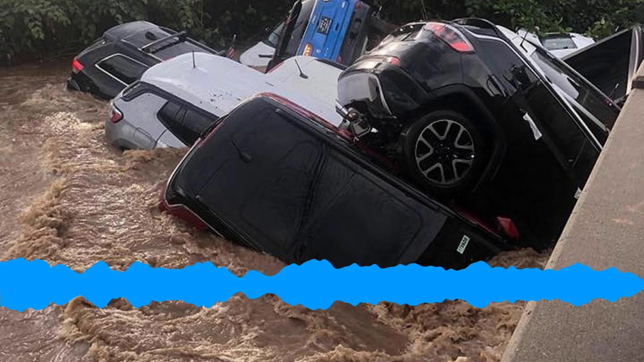 Rt 46 Jeep >> Flood Washes Away Cars Why Is Mayor Blaming Dealership