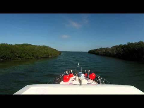 Anchorage off PineKey to Tavernier FL 120814