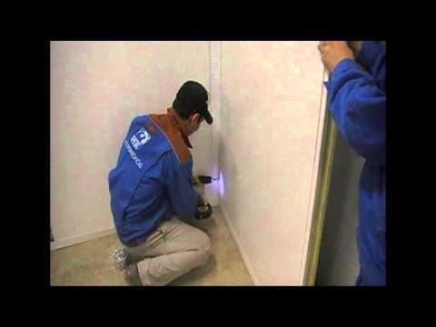 видео: Инструкция по сборке холодильной камеры из сендвич-панелей
