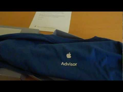 Apple Employee Shirt unboxing