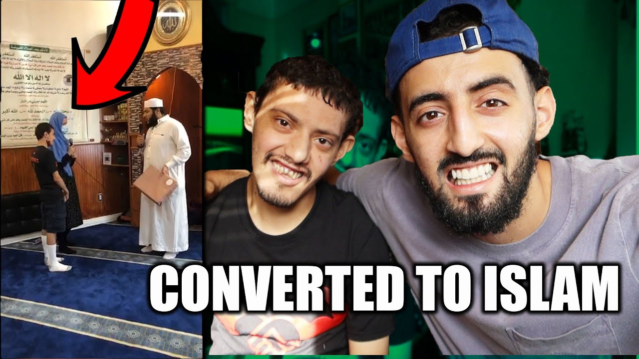 MY BROTHER HELPED HER CONVERT TO ISLAM (SHAHADAH VIDEO)