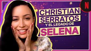 Christian Serratos revela sus portadas en Vogue y nos habla del legado de Selena