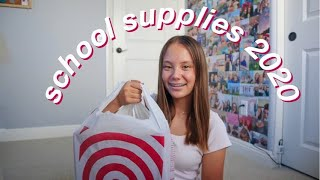 BACK TO SCHOOL SUPPLIES HAUL 2020!!