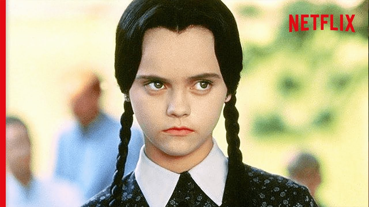 Download Wednesday Addams Being The Ultimate Mood | Netflix