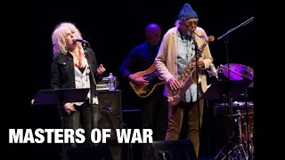 Lucinda Williams and Charles Lloyd & The Marvels - MASTERS OF WAR - Dylan cover - AUDIO INTENSIFIES