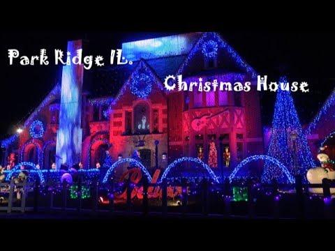 Park Ridge Lights 2017 - Christmas Light Show House