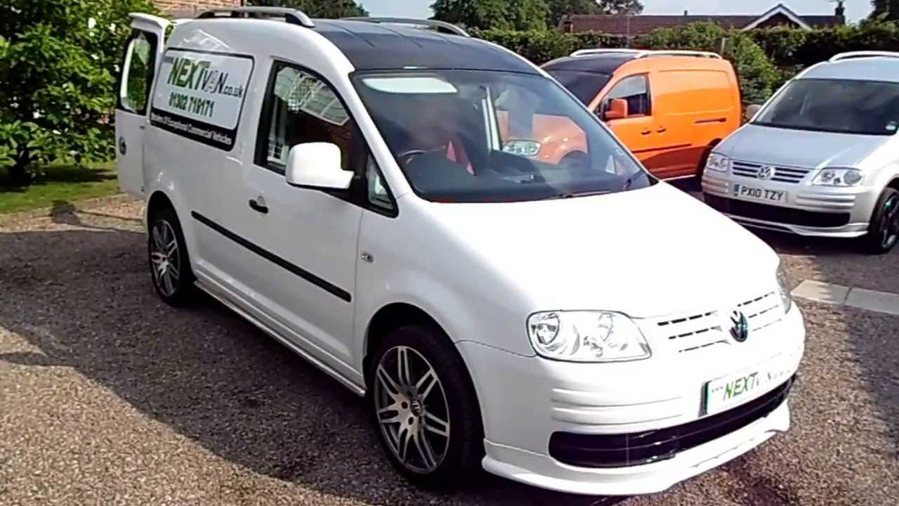 VW Caddy Sportline Conversion Custom Van - YouTube