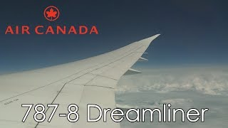 Air Canada ECONOMY CLASS | 787-8 DREAMLINER | FULL TRIP REPORT | IST-YYZ