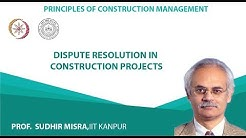 Dispute resolution in construction projects