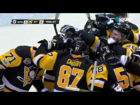 Crosby and Malkin with a beautiful play to end exciting OT