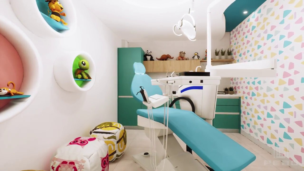 Consultorio odontologico dise o interior latacunga - Decoracion clinica dental ...