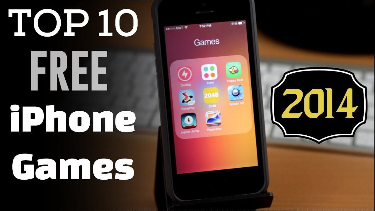 Top 10 Best Free iPhone & iPod Touch Games 2014