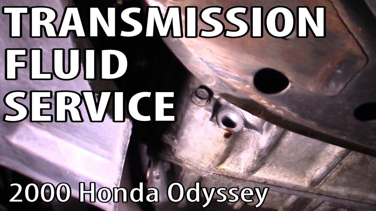 Odyssey transmission fluid change youtube for Honda odyssey transmission fluid change