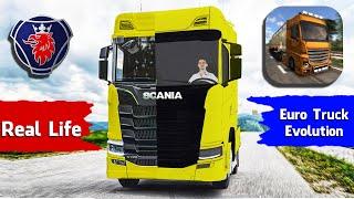 Euro Truck Evolution All Trucks vs. Real Life Trucks | Trucks Comparison 2021 | Android Gameplay screenshot 5