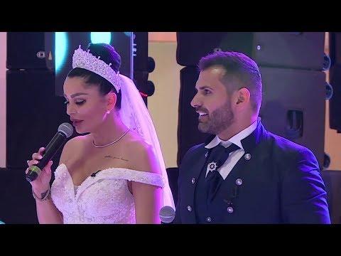 Primele imagini de la nunta Brigittei cu Florin. Ce rochie a purtat Brigitte?