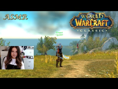 ASMR 🎣 Farming The Big Iron Fishing Pole In Classic WoW 🎣 Whispering & Ambient Water Sounds