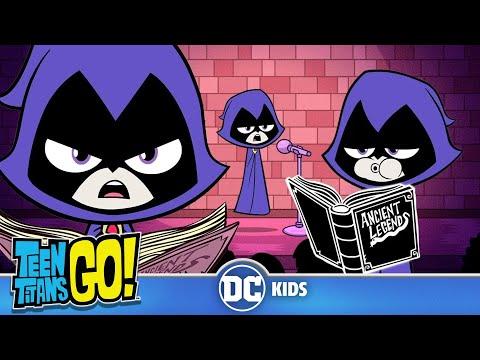 Teen Titans Go!   Raven Knows Everything!   DC Kids
