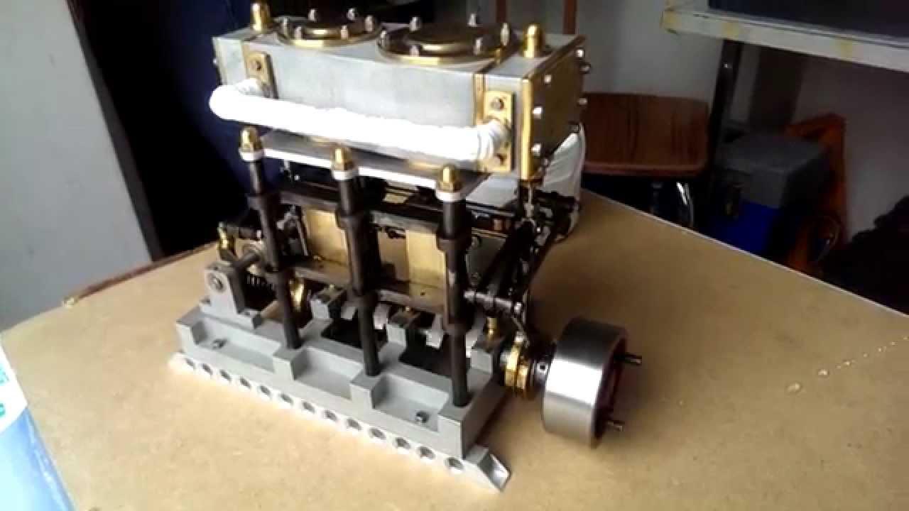 Vapeur vive live steam machine compound de richard et - Nettoyeurs de sols et vapeur ...