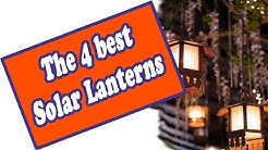 🌻 Hanging Solar Lantern Review - We Found The Top 4 Best Solar Lanterns For The Outdoors