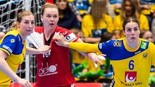 Гандбол Швеция - Россия (22-03-2019)