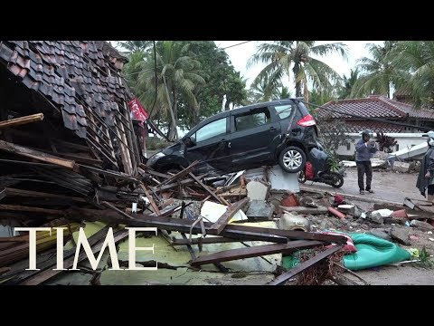 Tsunami Set Off By Volcanic Eruption Kills 373 In Indonesia | TIME