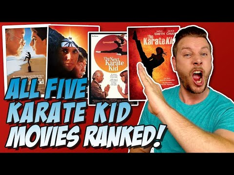 All 5 Karate Kid Movies Ranked Worst to Best
