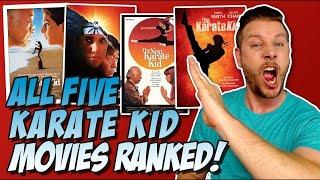 All 5 Karate Kid Movies Ranked Worst To Best