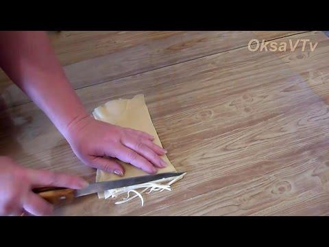 домашняя яичная лапша. homemade egg noodles