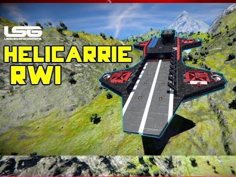 RWI Helicarrier Intelligence Gathering Spotlight - Space Engineers