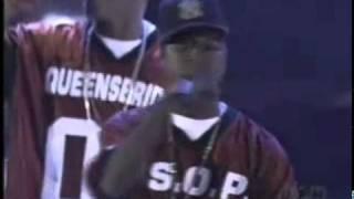 Mobb Deep feat Lil Kim Quite Storm Remix (Live 2001 Source Awards L.A.)