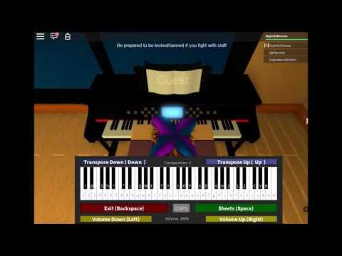 Undertale - Snowy on Virtual Piano (Roblox Version)