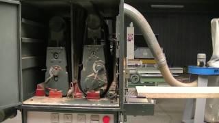 SZLIFIERKA SZEROKOTAŚMOWA -- 2 AGREGATOWA / BREITBANDSCHLEIFMASCHINE / SANDING MACHINE
