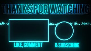 Download Thanks for watching like comment subscribe intro! MP3 song and Music Video