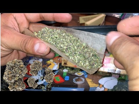 SMOKING PURPLE WEED FOR 50K SUBS