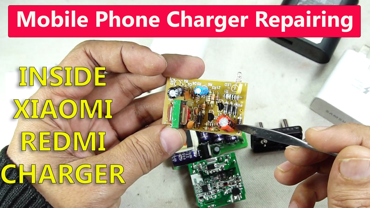 Inside a Xiaomi REDMI Charger: Truth About Mobile Phone Charger Repairing !!!!!!  YouTube