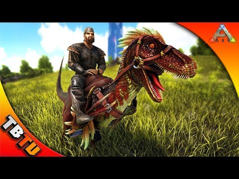 Ark: Survival Zoology E4 -  BABY RAPTOR TAMING & DINO FUNERAL! STUDYING NEW DINOS
