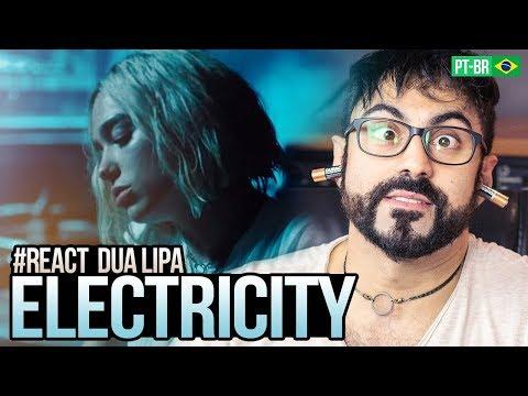 REAGINDO a Silk City, Dua Lipa - Electricity (Official Video) ft. Diplo, Mark Ronson