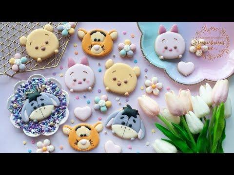 how-to-make-winnie-the-pooh-&-friends-tsum-tsum-cookies-~-eeyore,-tigger,-piglet-&-pooh-cookies