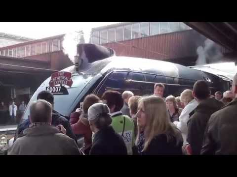 The Cathedrals Express with 60007 Sir Nigel Gresley 29.3.14 Part 1